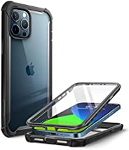 i-Blason Ares Case for iPhone 12 Pro Max 6.7 inch (2020 Release), Dual Layer Rugged Clear Bumper Case with Bui