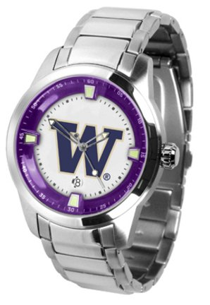 Washington Huskies Titan Steel Watch