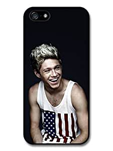 Niall Horan American Flag Smiling 1D One Direction case for iPhone 5 5S A1357