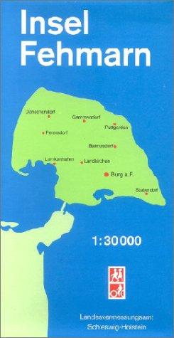Amtliche Sonderkarten Schleswig Holstein Insel Fehmarn