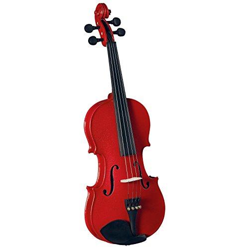 Saga AB-05RD Anton Breton Student Violin Outfit - 4-4 Red