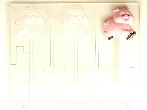 Pig Running AO165 All Occasion Chocolate Candy Mold