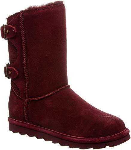 BEARPAW - Womens Clara Boots, Size: 7 B(M) US, Color: Wine
