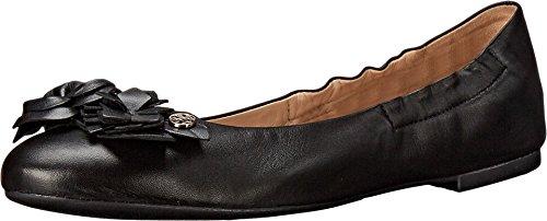 Tory Burch Reva Womens Leather Flats Shoes - 8