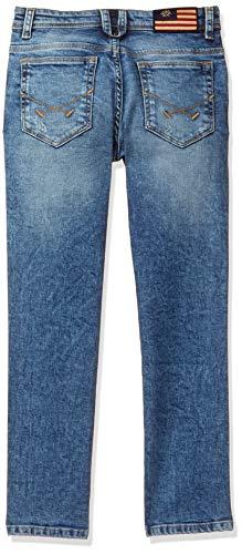 US Polo Association Boy's Skinny Regular fit Jeans 2021 August Care Instructions: Machine Wash Fit Type: Regular Color Name: Med Blue