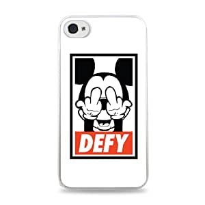 Mickey Mouse Defy White Hardshell Case for iPhone 6 Plus (5.5 inch) i6+