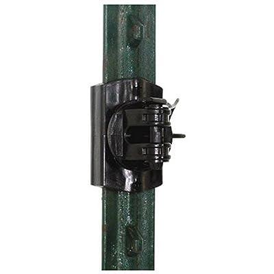 Gallagher G681034 20-Pack Multi-Purpose Electric Fence Insulator, Black