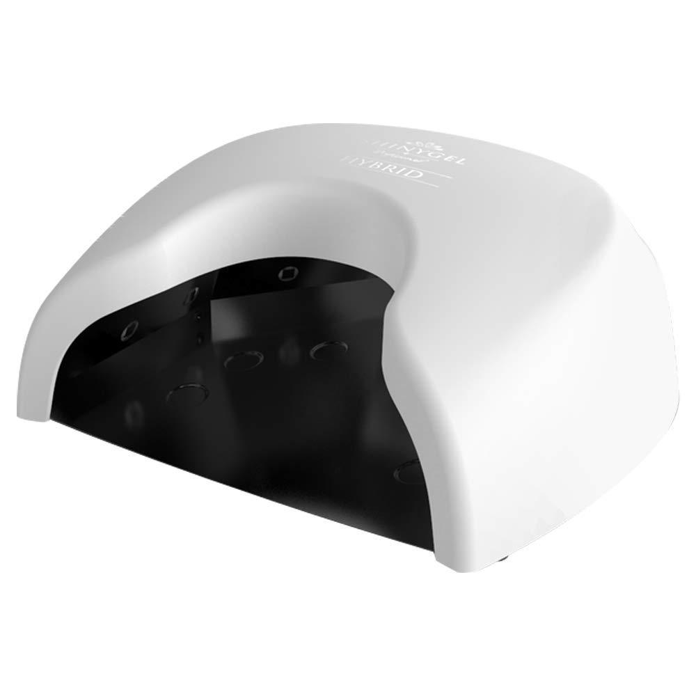 <ホワイト>SHINYGEL Professional シャイニージェルプロフェッショナル ジェルネイル用 36W LEDランプ<クレッシェンド ハイブリッド>(プロ用LEDライト)【一台でUV/LED両対応+硬化熱軽減】 B07JLW955D