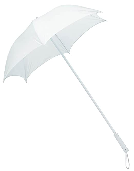 Vintage Style Parasols and Umbrellas Silk Parasol Costume White White  $27.99 AT vintagedancer.com