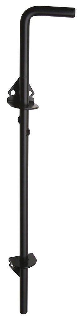 Stanley Hardware S532-527 1009 Cane Bolt in Black, 1/2'' x 18''