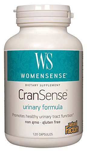 WomenSense CranSense 500mg Natural Factors 120 Caps (Factors Cranberry Natural)