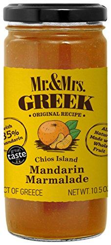 Mr. & Mrs. Greek Chios Island Marmalade, Mandarin, 10.5 Ounce