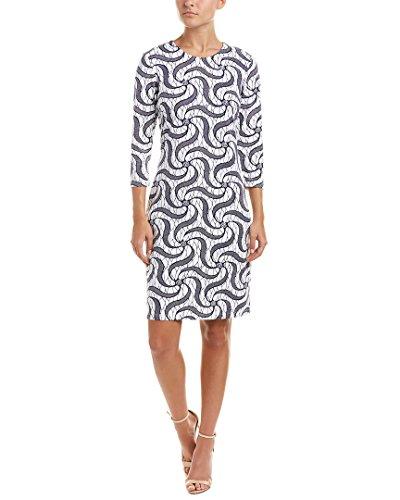 Sheath Womens M White Dress Mclaughlin Cloth J Catalina aIAqAH