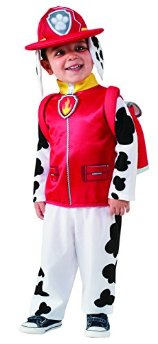 Rubie's Costume Toddler PAW Patrol Marshall Child Costume, One Color, 3-4 Years (Dalmatian Halloween Costume For Baby)