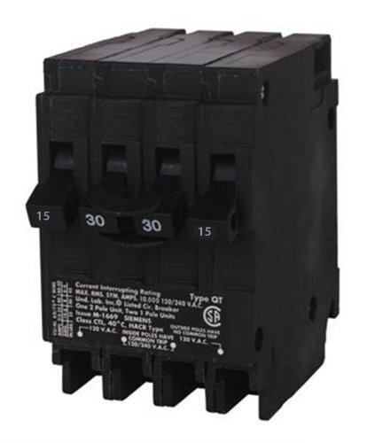 siemens-q21530ct-30-amp-double-pole-two-15-amp-single-pole-circuit-breaker-model-q21530ct