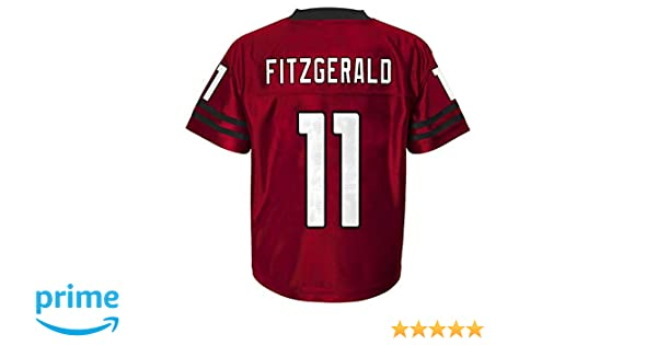 ecfe60f34 Amazon.com   Outerstuff Larry Fitzgerald Arizona Cardinals  11 Red Youth  Home Player Jersey   Sports   Outdoors