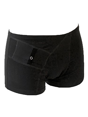 Diabetes Hipster Panties with Pocket for Insulin Pump (XL) Pump Sets Case
