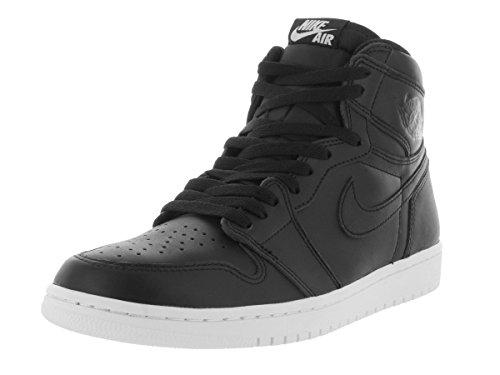 Nike Air Jordan 1 Retro High Og, Zapatillas de Deporte para Hombre Negro / Blanco (Black / Black-White)
