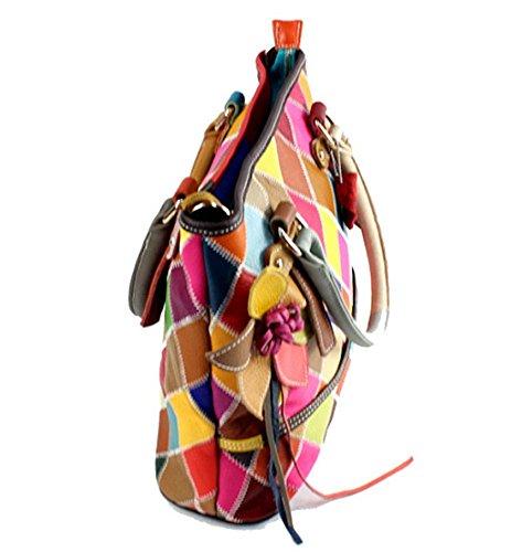 Multicolore multicolore 1 Eysee Borsa a mano Mode donna IwBp6fX