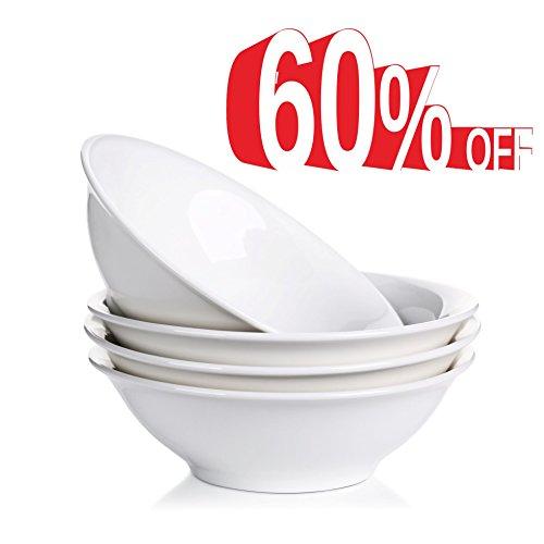 Lifver 13-oz Porcelain Dessert/Soup/Noodle Bowl...