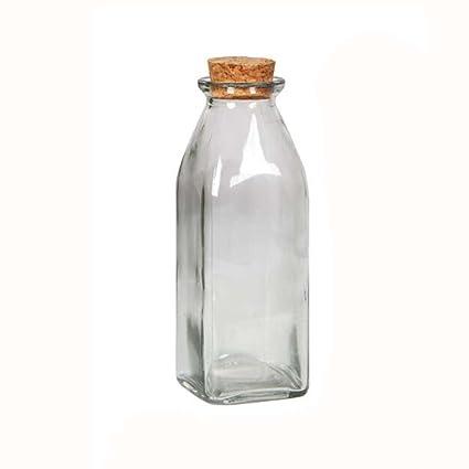 Botella de vidrio de regalo de DIY que deseen la botella Aproximadamente 5-8 pulgadas