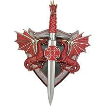 Master Cutlery KS-5838 Red Dragon Fantasy Sword