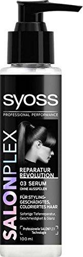 Syoss SalonPlex Hair Recreator Leave-in Spray Serum Oil Damaged Dry hair 100ml