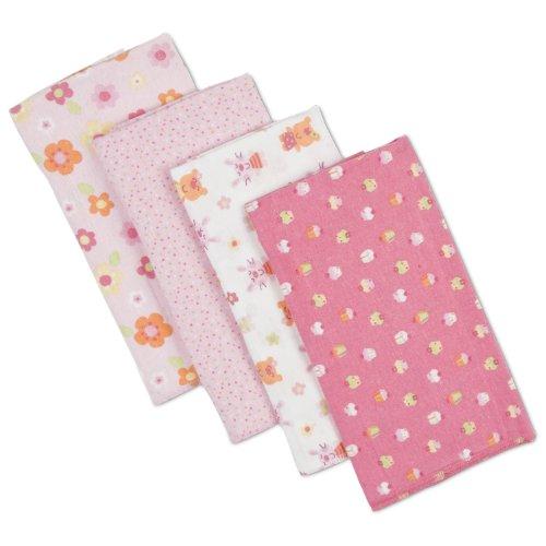 Gerber Count Flannel Diaper Print