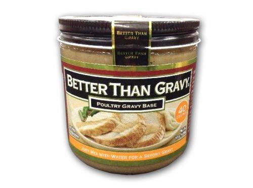 Better Than Gravy Poultry Chicken Base Mix Family Value Size | 14 oz. jar - Poultry Base