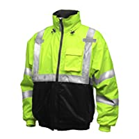 TINGLEY Rubber J26112 Bomber Ii Jacket, Medium, Lime Green 2