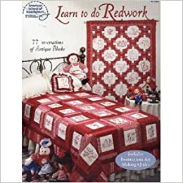 Book Learn to Do Redwork