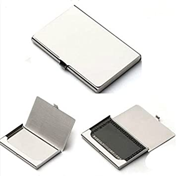 Visitenkarten Etui Visitenkartenhalter Id Card Holder Metall