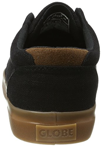 Globe Willow - Zapatillas de casa Hombre Schwarz (Black Hemp/Gum)