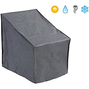 Patio Watcher Patio Chair Cover All Weather Protective Patio Furniture Cover  Standard Outdoor Chair Cover(