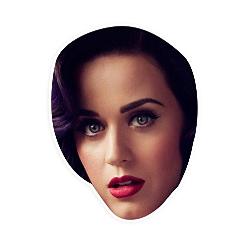 Katy Perry Concert Costumes (Sexy Katy Perry Mask - Perfect for Halloween, Masquerade, Parties, Events, Festivals, Concerts - Jumbo Size Waterproof Laminated)