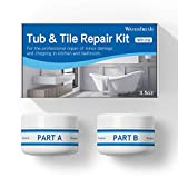 Tub, Tile and Shower Repair Kit - White