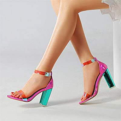 BOODOOW transparent sandals Open Toed