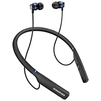Sennheiser CX 7.00 BT - Auricular intraural inalámbrico, color negro y azul