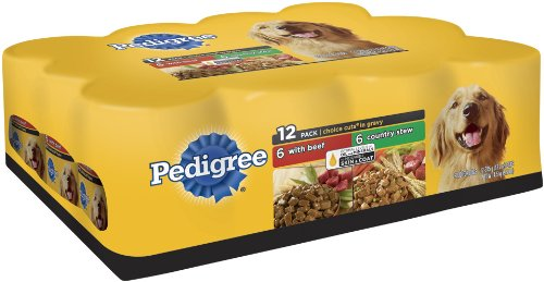 Pedigree Choice Cuts Variety Pack (with Beef, Country Stew) Food for Dogs, 13.2-Ounce Cans (Pack of 24), My Pet Supplies