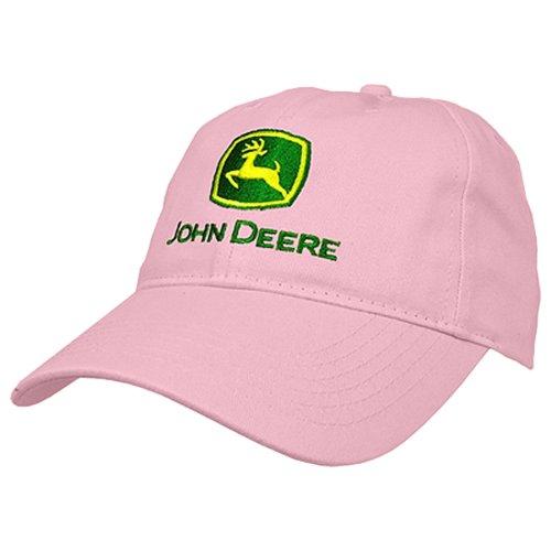 John Deere I Love JD Hat - Pink