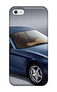 High Grade DanRobertse Flexible Tpu Case For Iphone 5/5s - Ferrari Photo