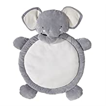 Lolli Living Play Mat – Elephant – Padded Baby Play Mat For Tummy Time, Diaper Change, Washable Material, Gender-Neutral Baby Nursery Animal Shaped Mat