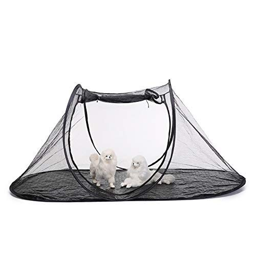 Collapsible Elliptical Pet Tent, Cat Dog Play House Game Fence, Suitable for Outdoor Use Pet Tent for Cats and Dogs