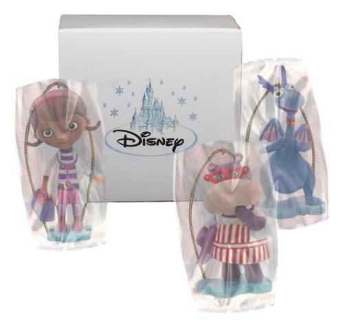 """Disney's Doc McStuffins """"Stuffy, Hallie & Doc McStuffins"""" 3 Piece Ornament Set - Limited Availability"""
