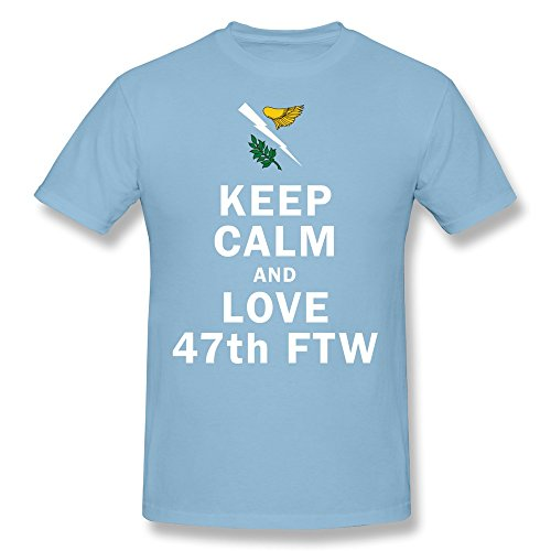 AJLNA Men's Keep Calm And Love 47th FTW  - New Orleans Saints Throwing Shopping Results