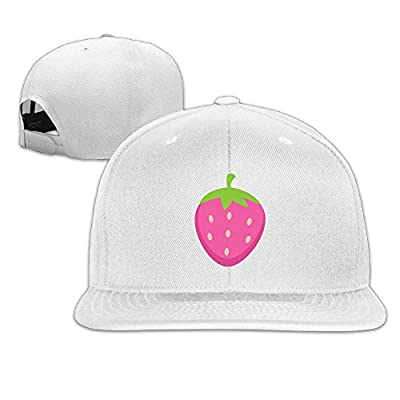 Strawberry Classic Fashionable Baseball Caps For Girls Fitted Hats Snapback Hiking