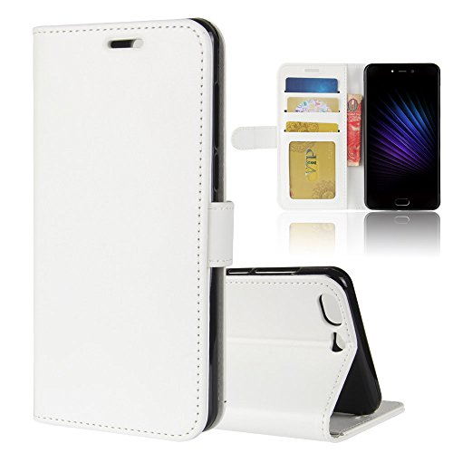 Scheam LEAGOO T5 Case Flip Cover Accessories Case Compatible with LEAGOO T5 - White