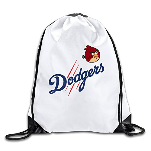 ALIIXUN2 Angry Dodgers Bird Drawstring Backpacks Sack Bags