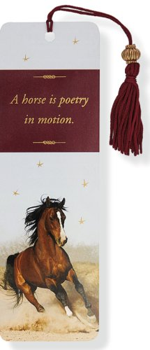 Horse Beaded Bookmark