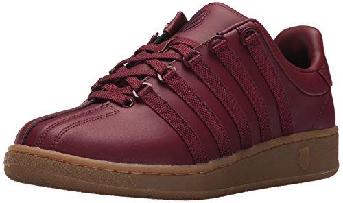 K-swiss Heren Klassieke Vn Sneaker Bordeauxrood / Donkere Gom